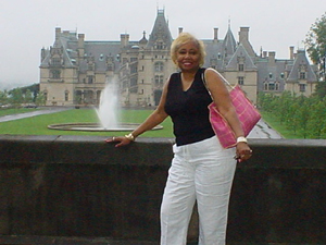 Linda Jones at Biltmore Castle