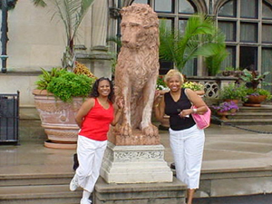 Vanessa & Linda at Biltmore Castle